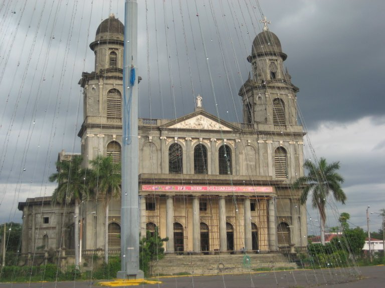 Antigua Cathedral in Managua