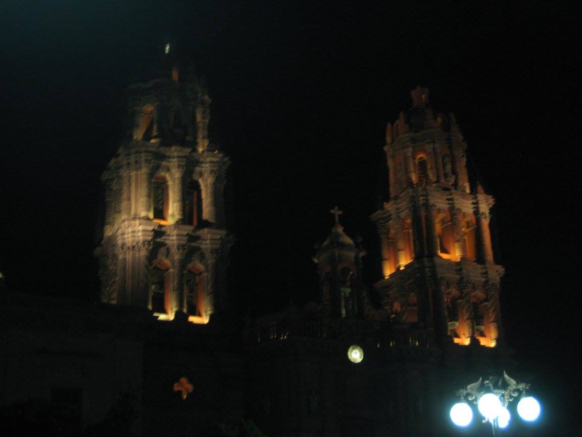 A cathedral in San Luis Potosi city