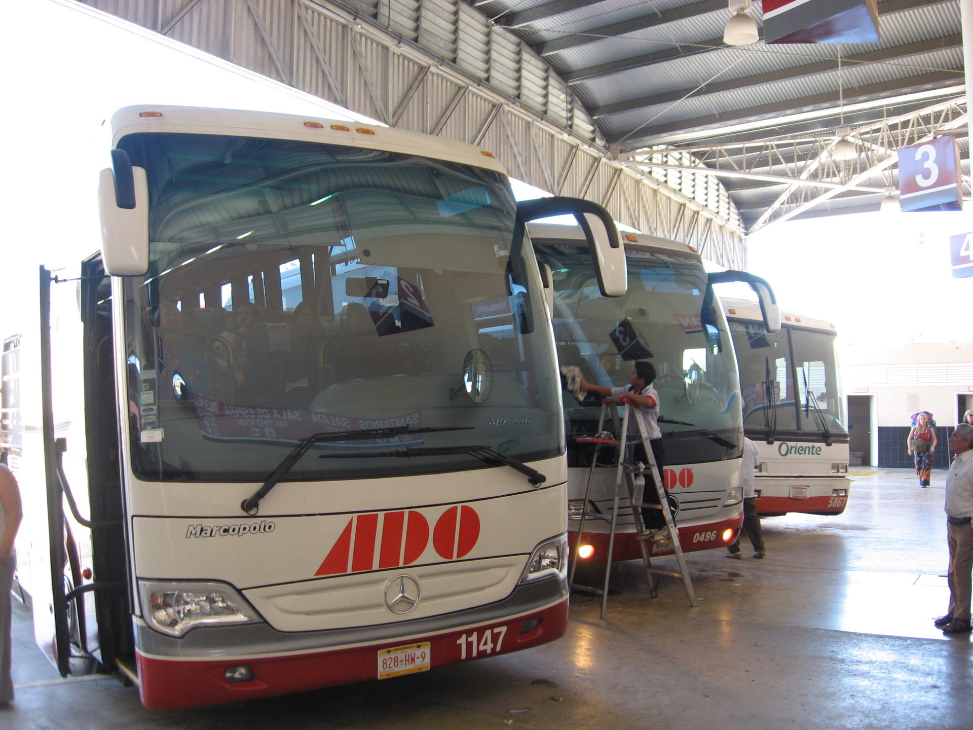 Bus station. Image courtesy of Wikipedia.