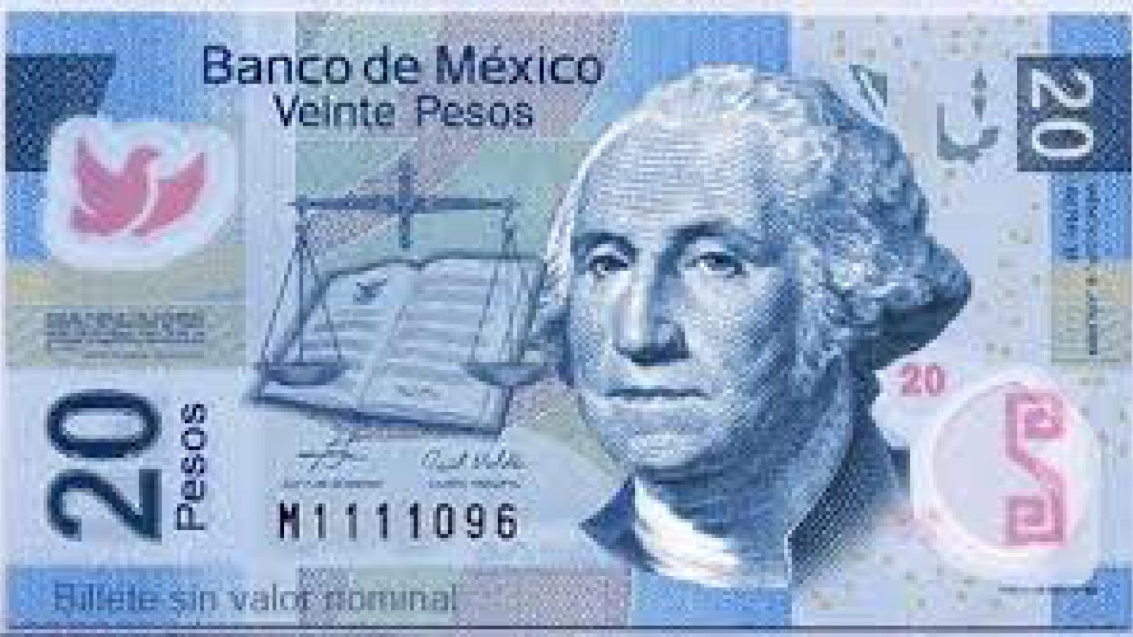 One dollar is worth nearly 20 mexican pesos